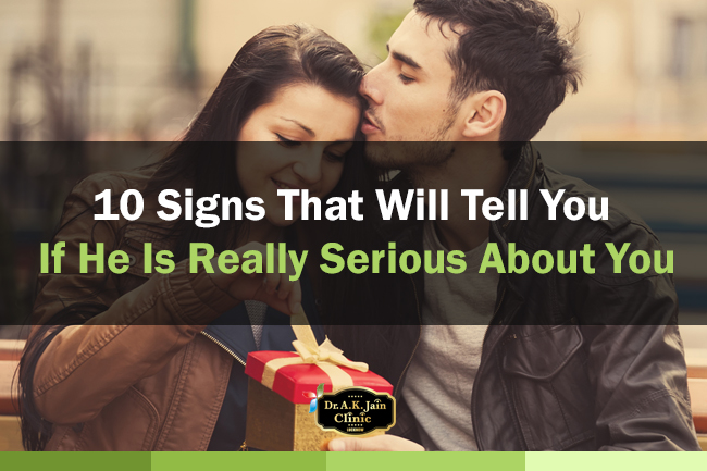 signs that he is serious about you