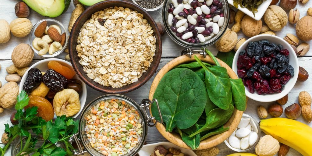 zinc and magnesium rich food